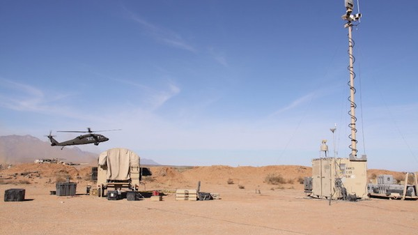 The Army's Futuristic Guard Posts Are Trailers with Pop-Up Gun Turrets