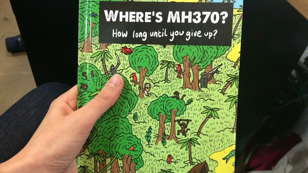 Someone Made a 'Where's Waldo' Style Book About Missing Flight MH370
