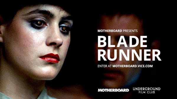 London, Come Watch 'Blade Runner' With Us. Humans and Replicants Welcome