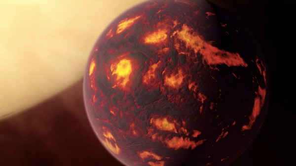 Check Out the Boiling Hellscape of Planet 55 Cancri E in this Video Rendering