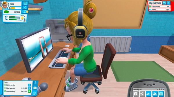 'Youtubers Life' Is 'The Sims' for Sociopaths