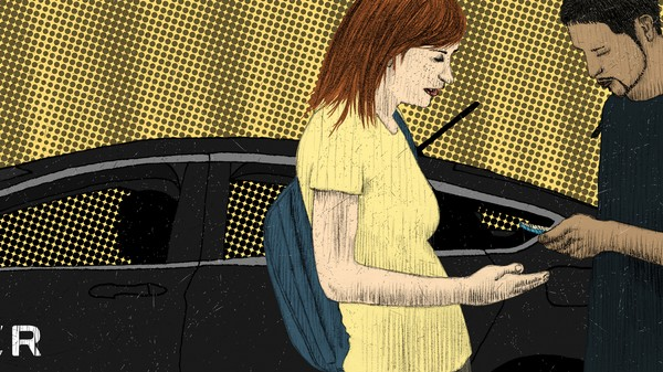 Love in the Time of Ridesharing