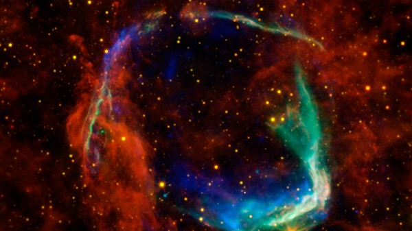 Radiation From Ancient Supernovae May Have Given Evolution an Astrophysical Push