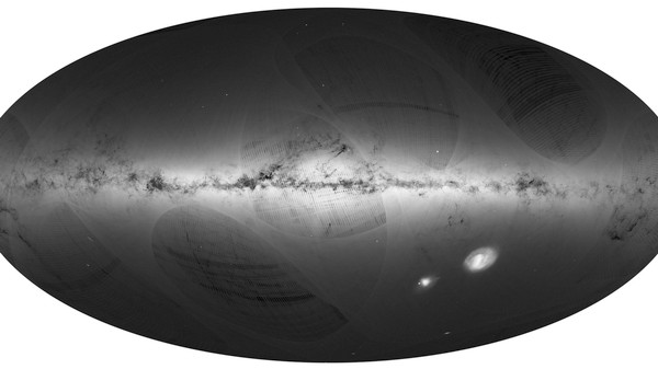 Europe Has Added 1.1 Billion Stars to Its Milky Way Map