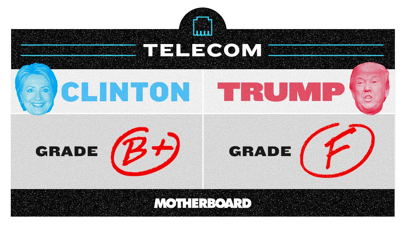 Trump vs. Clinton: Who's Better On Telecom?