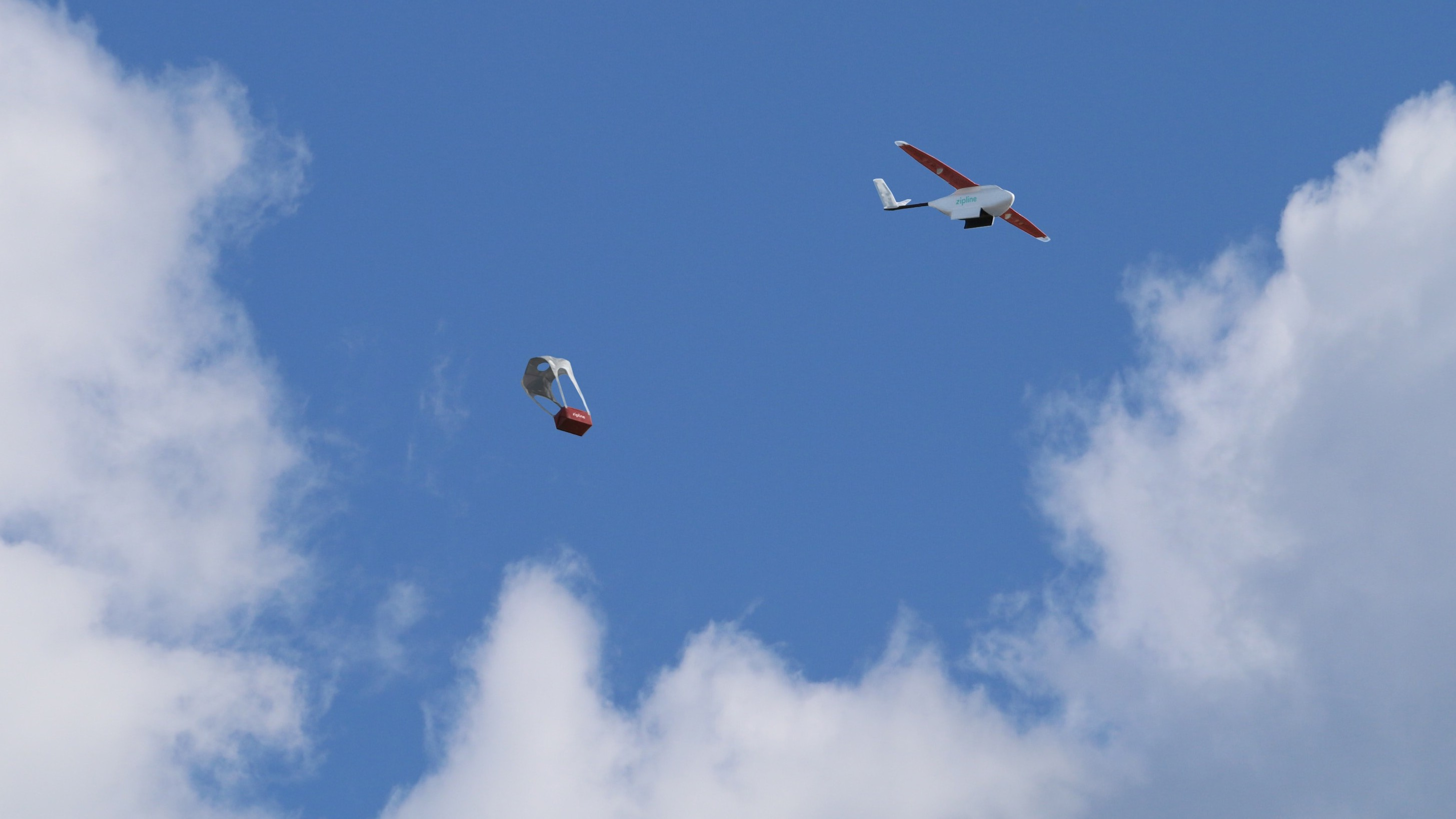 Watch the President of Rwanda Launch a Blood Delivery Drone