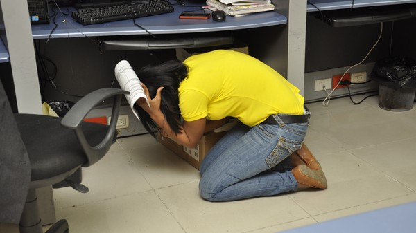 Hold Onto Your Butts! It's World Earthquake Drill Day