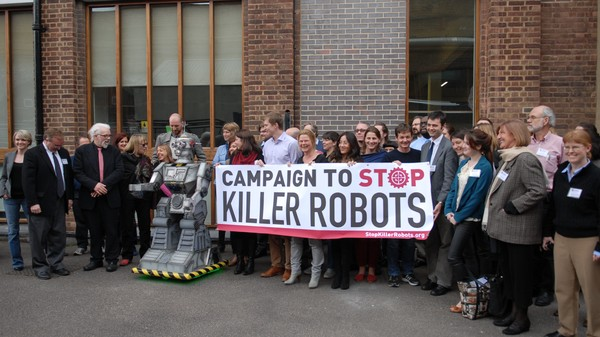 The Campaign to Stop Killer Robots Makes Incremental Progress at the UN