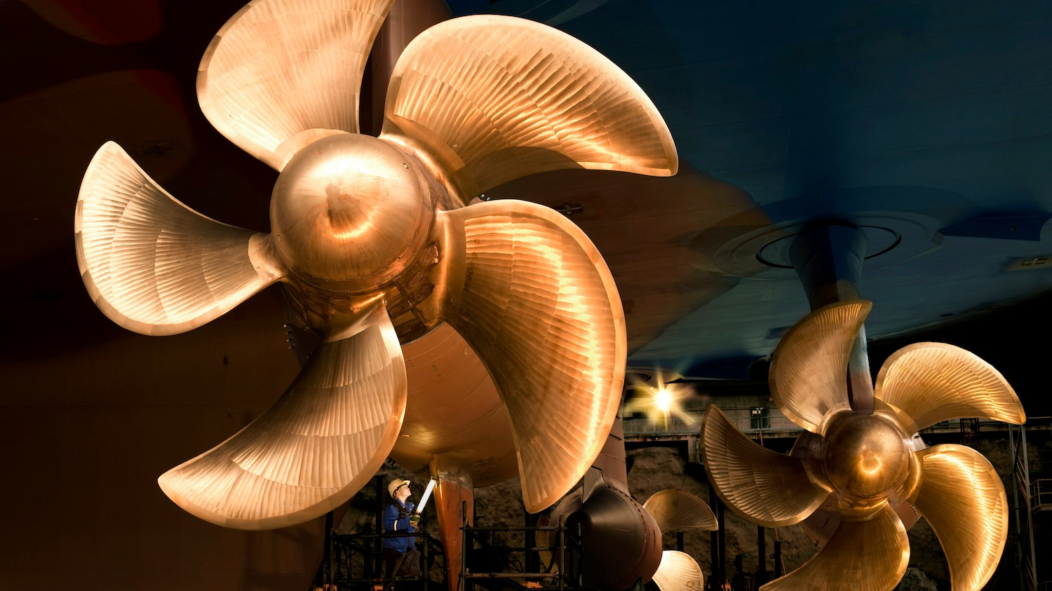 Really Big Propellers Are Powering Greener, Smarter Ships