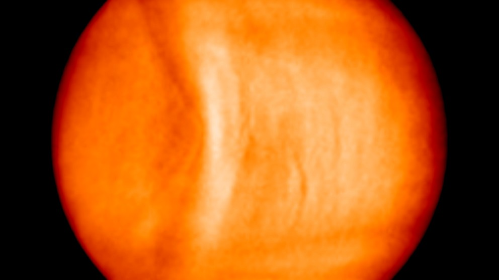 What the Heck Is This Giant Bow-Shaped Structure in Venus's Skies?