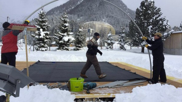 Climate Researchers Are Setting Up an Arctic Base Camp at Davos