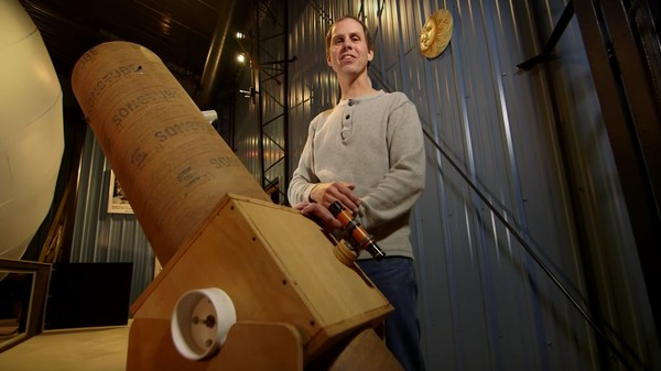 Check Out the Homemade Planetarium Built By A Very Committed Dude in Wisconsin