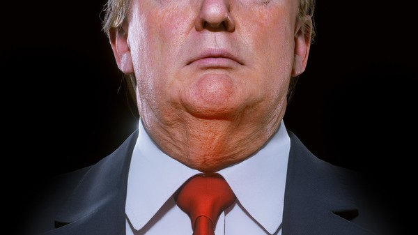Get Close Enough to Touch Trump's Chins in This Virtual Reality Art Piece
