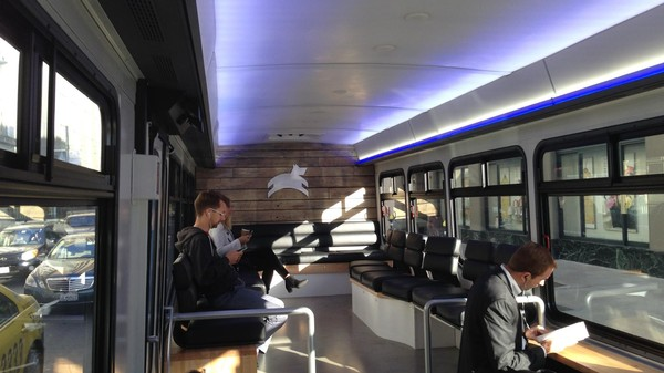 San Francisco's New Luxury Bus Startup Is Already Pissing People Off