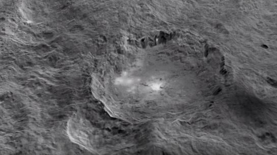 Take a Look at Dwarf Planet Ceres and Its Weird Geological Formations