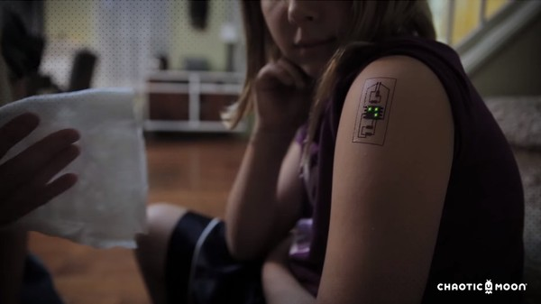 'Tech Tats' Are Temporary Tattoos for the Casual Biohacker