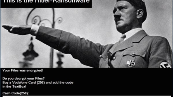 This Week in Crude Attempts at Malware: 'Hitler-Ransomware'