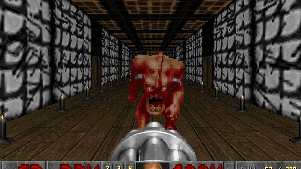 Behold 'Doom 2' Being Displayed on a Single Keyboard Key