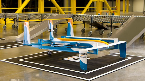 The First-Ever Amazon Drone Deliveries Have Begun