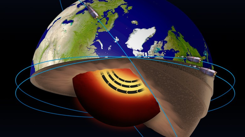 Earth's Core Is Squirting a 'Jet Stream' of Liquid Metal Under the Surface