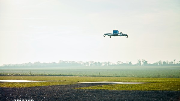 Amazon Prime Air Drones Will Automatically Land If Shot At