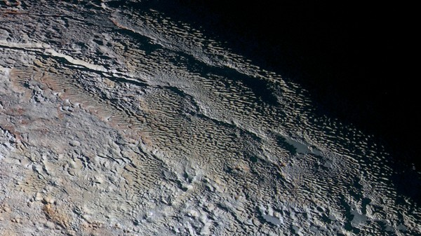 Pluto Has Towers of Ice 1,600 Feet Tall