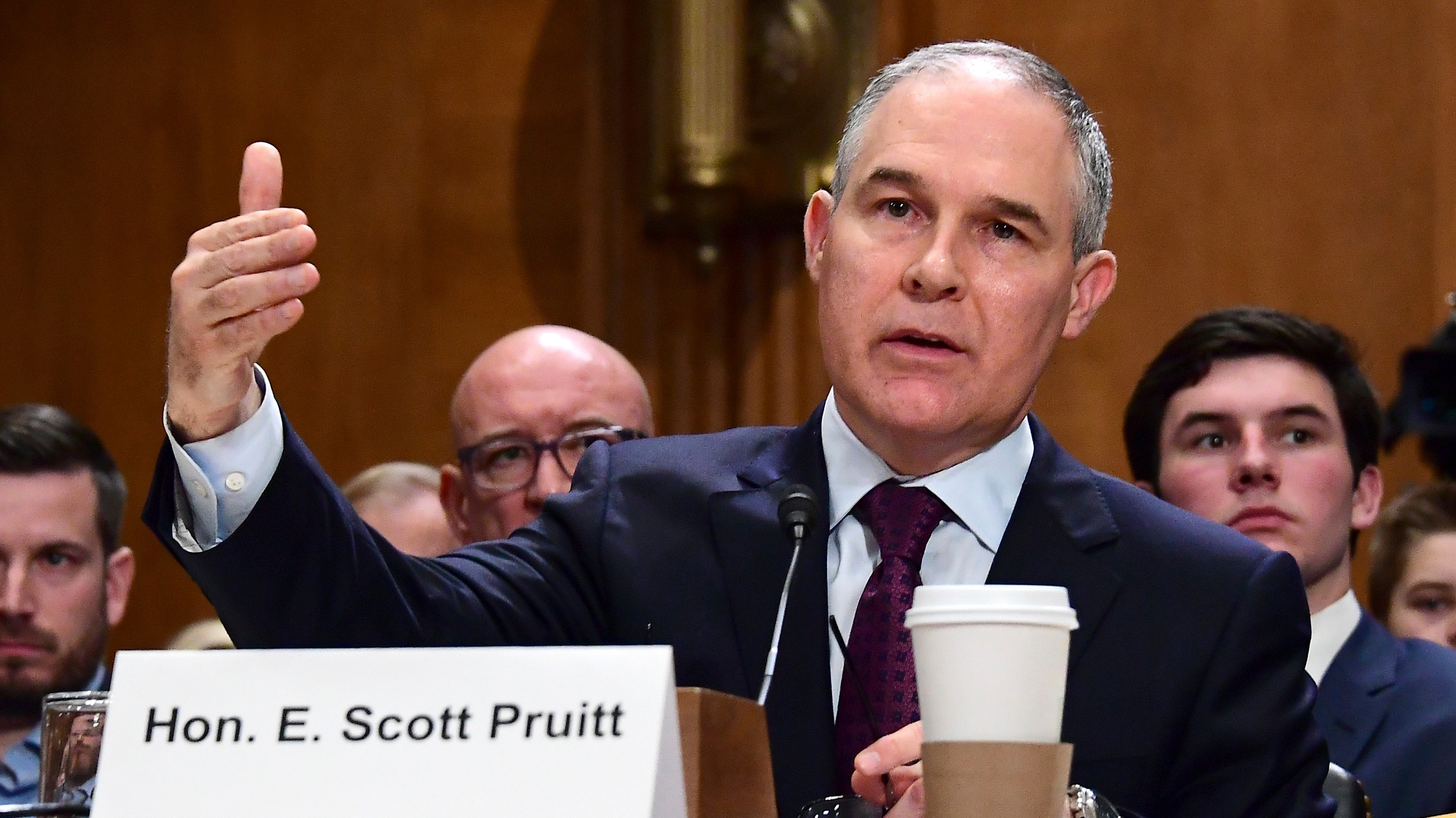 Scott Pruitt Is an Enemy of Environmental Protection