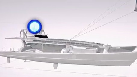 This Boat Will Run for Six Years on Nothing But Wind, Water and Hydrogen