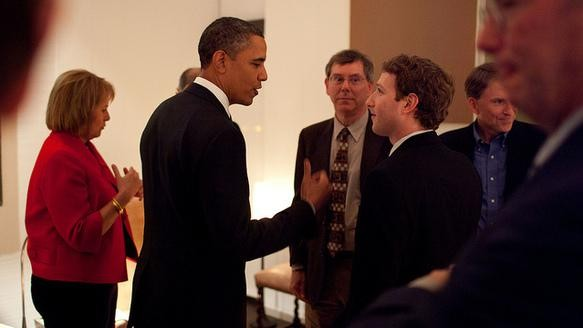What Are Obama And Zuckerberg Talking About Here?