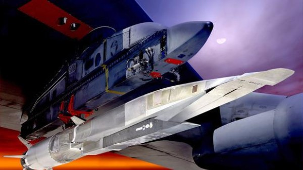 What's the Air Force Doing With This $300 Million Hypersonic Missile?