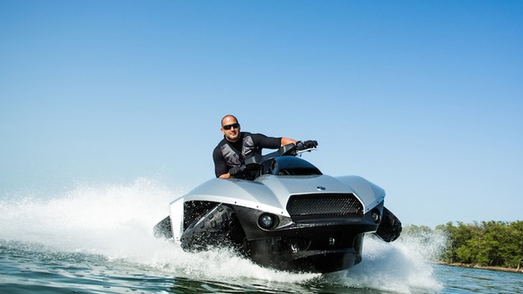 What Couldn't You Do With This Hybrid ATV-Jet Ski?