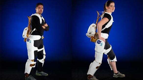 NASA's New Exoskeleton Helps Paraplegics Walk