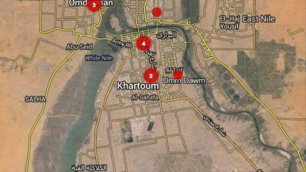 Protesters Are Dodging Sudan's Internet Shutdown with a Phone-Powered Crowdmap