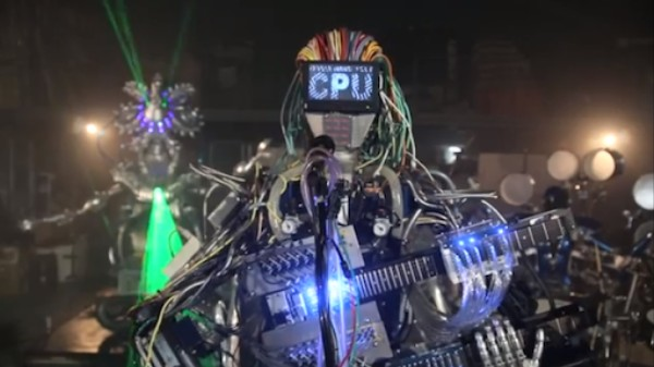 For Some Reason, Zima Has a 78-Fingered Robot Guitarist