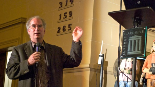 Brewster Kahle, the Librarian of 404 Billion Websites