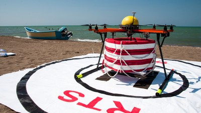 This Iranian Drone Is a Better Lifeguard Than David Hasselhoff