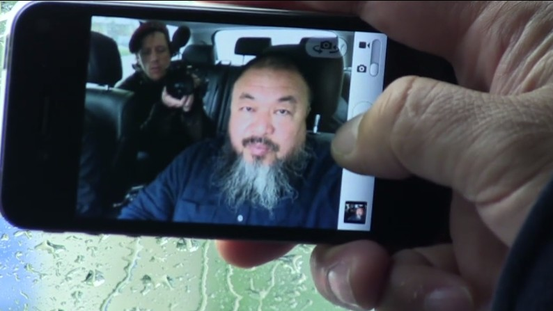 Ai Weiwei, Caught on Camera and Confined By It Too