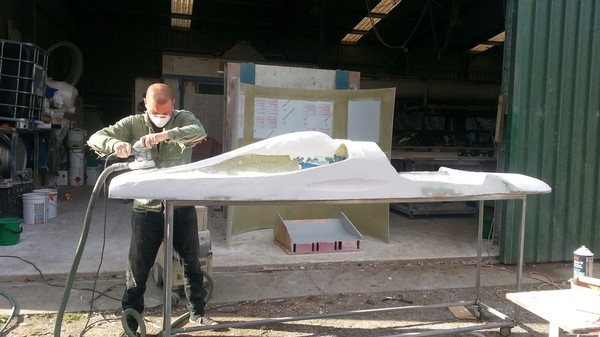 This Guy Is Building a 300 MPH Jet-Powered Street Luge in His Parents' Shed