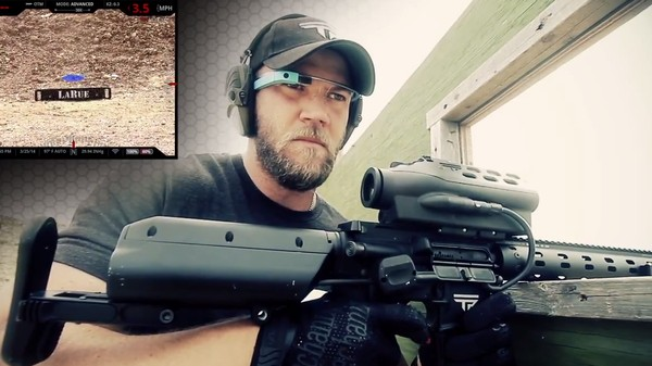 Google Glass-Equipped Smart Guns Can Aim and Shoot Around Corners