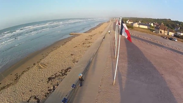 What Normandy's Bloodiest Beach Looks Like Today, Through the Eyes of a Drone