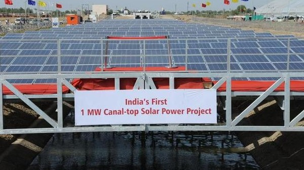 India's Bold Plan to Cover 1,000 Miles of Canals With Solar Power Plants