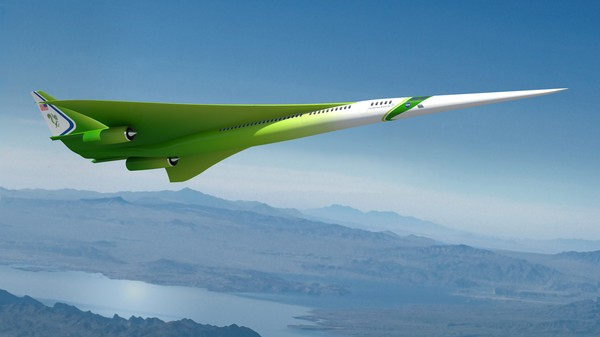 NASA Is Working on Supersonic Jets That Don't Boom So Much