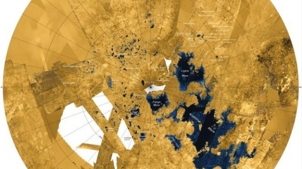 A Mysterious Shape Just Appeared on the Surface of Titan