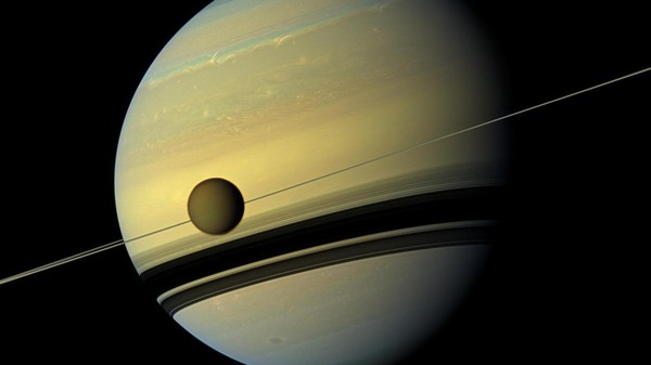 Parts of Saturn's Moon Titan Are Older Than Saturn Itself