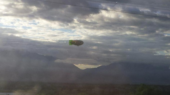 A Blimp Flew Over the NSA in the Name of Surveillance Reform