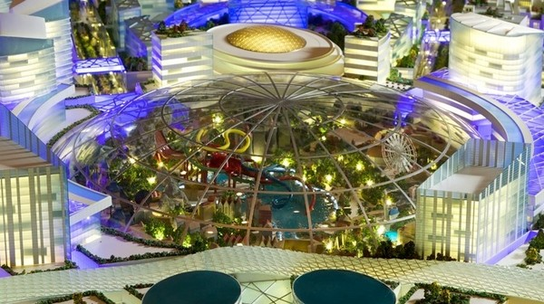 Dubai's Climate-Controlled Dome City Is a Dystopia Waiting to Happen