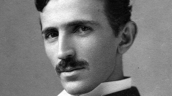 Nikola Tesla's Pro-Eugenics, Anti-Coffee Portrait of the Future