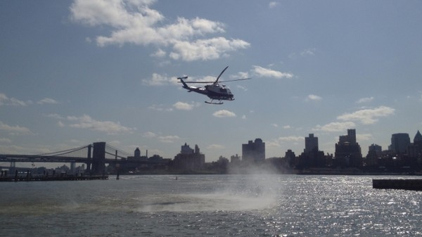 NYPD Helicopter Flew at a Drone and Never Feared Crashing, Recording Confirms