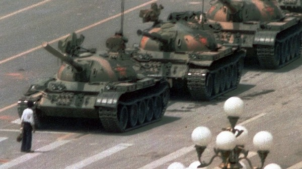 Tiananmen, Dark Matter and the Mystery of the Tank Man