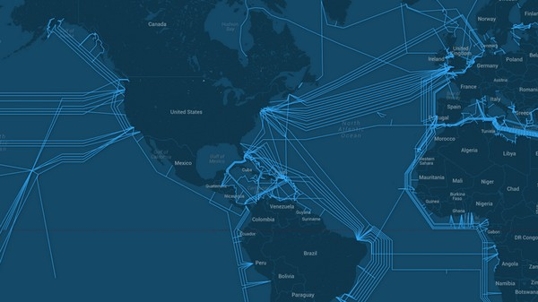The Best Visualization of the Internet's Submarine Backbone Yet